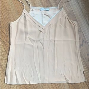 Laundry Cami w/ lace detail sz small/med